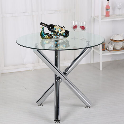 Coffee Glass Round Dining Table