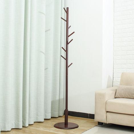 Coffee standing wooden suspension floor 174cm