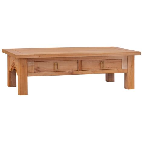 Coffee Table 100x50x30 cm Solid Mahogany Wood