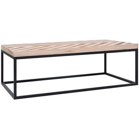 Coffee Table 110x60x37 cm Solid Wood