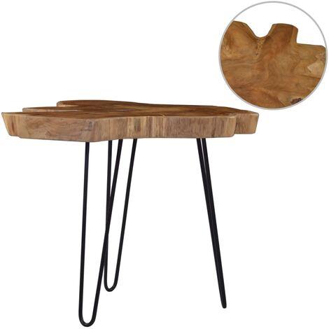 Coffee Table (60-70)x45 cm Teak Wood - Brown