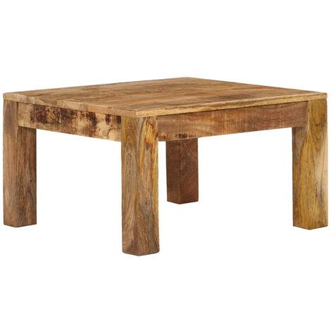 "main image of ""Coffee Table 60x60x35 cm Solid Mango Wood"""
