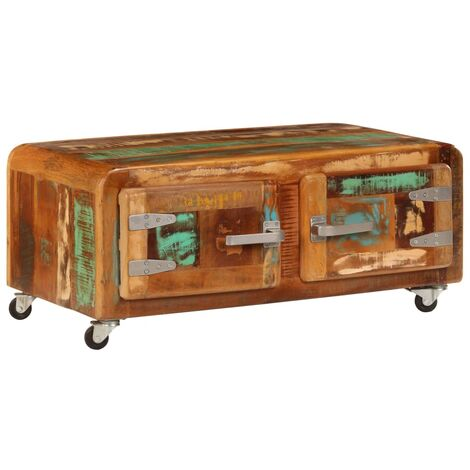 Coffee Table 85x55x40 cm Solid Reclaimed Wood