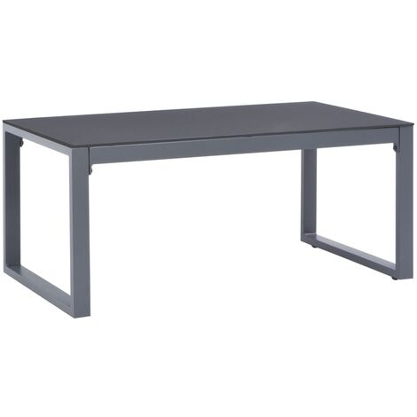 Coffee Table 90x50x40 cm Aluminium