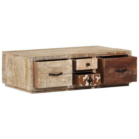 Coffee Table 90x60x30 cm Solid Mango Wood