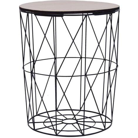 Coffee Table Black ? 47 cm - Black