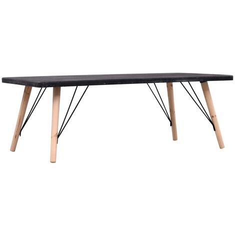 Coffee Table Concrete Finish 112x60x41 cm MDF