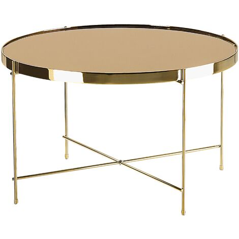 Coffee Table Gold LUCEA