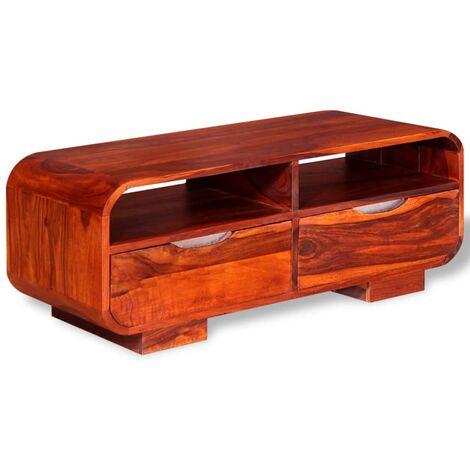 Coffee Table Solid Sheesham Wood 90x40x35 cm