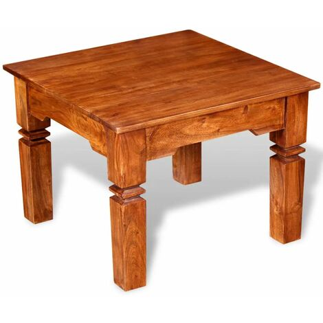 Coffee Table Solid Wood 60x60x45Cm