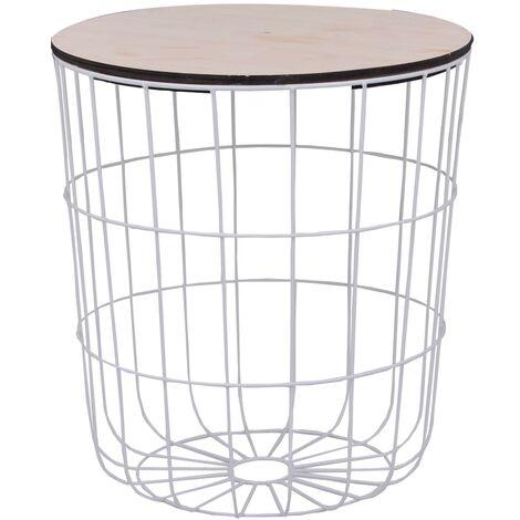 Coffee Table White ? 39,5 cm - White