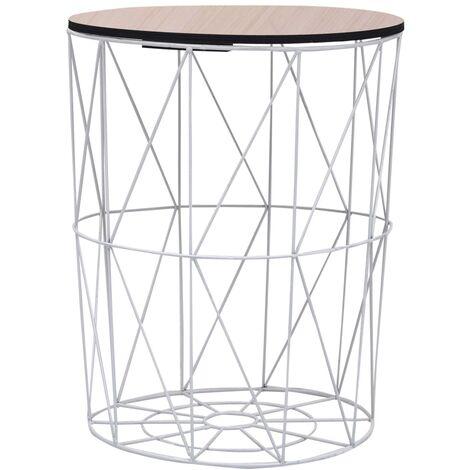 Coffee Table White ? 47 cm - White