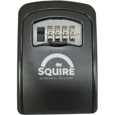 Coffre à clé sécurisé à combinaison SQUIRE KEYKEEP 1 - Noir