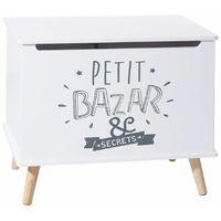 Coffre à jouets Petit Bazar et Secrets - Atmosphera