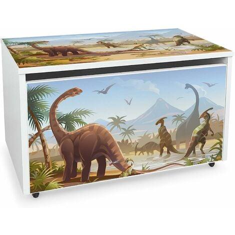 Coffre à jouets XXL sur roues: Jurassic