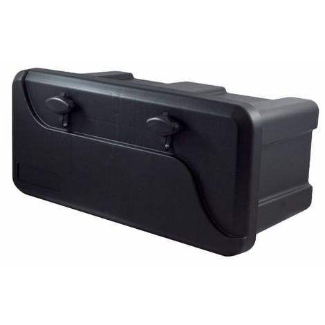 Coffre à outils étanche pour remorque 2 Serrures 550 X 250 X 294 mm