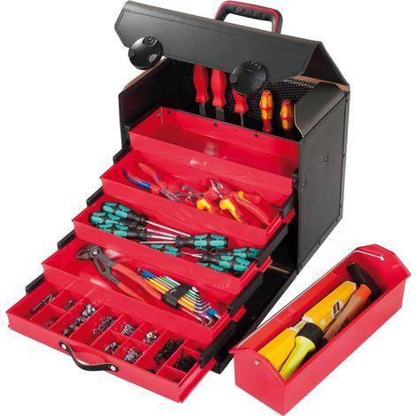 Coffre à tiroirs TOP-LINE, Dimensions intérieures : 410 x 220 x 310 mm, Volume environ 28 l, Poids 4900 g