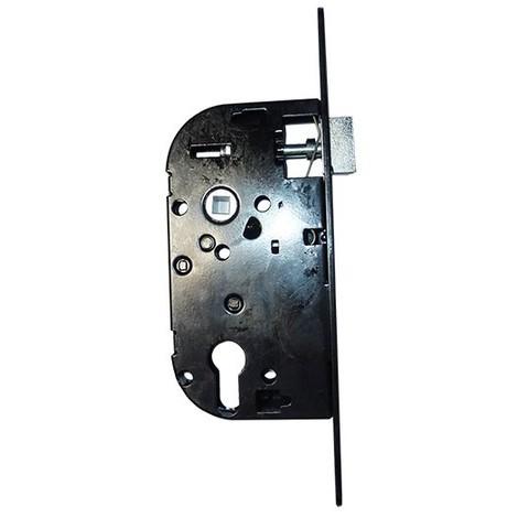 """main image of """"Coffre axe 50 NF métalux clé I droite noir EURO-ELZETT - sans gache réversible - G838E277K4"""""""