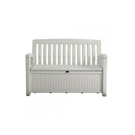Coffre Banc En Résine Patio Bench 227 L Blanc 12 932067
