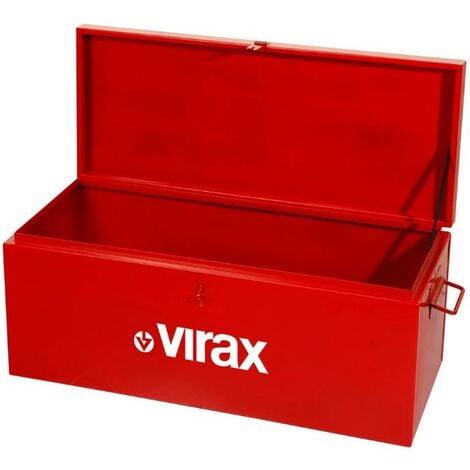 Coffre de chantier 104 L haute qualité 850 x 350 x 350 mm Virax - 382620