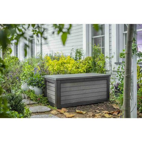 Coffre de jardin résine BRUSHWOOD 623L