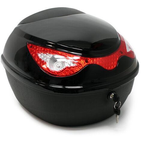 Coffre de moto Top Case Roller Moto Valise Boîte de transport Motocyclette