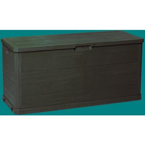 Coffre de rangement extérieur 117X45X56Cm Résine Marron Woody 280 Natuur Nt128620