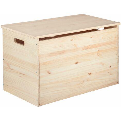 Coffre de rangement ou stockage de pellets 80 x 40 x 50 cm 135 litres
