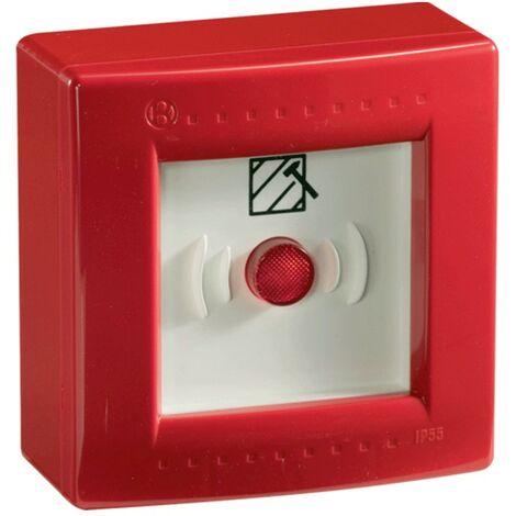 Coffre étanche Bocchiotti avec un rouge bouton d'urgence B05760