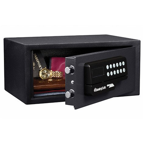 Coffre-fort à ouverture carte M. Dim 17,8 x 38,1 x 27,9 cm - HO60ES - Masterlock - -