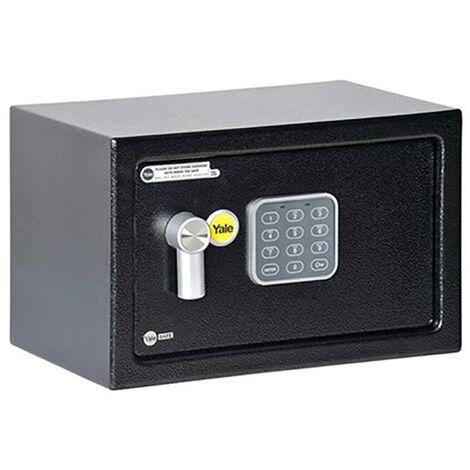 Coffre-fort de sécurité Yale avec alarme 200X310X200 noir