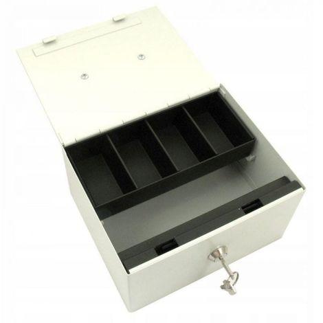 Coffre-fort en métal avec clé en espèces
