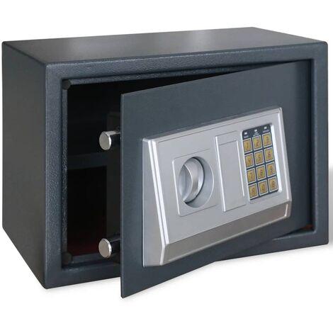 Coffre-fort numérique électronique avec étagère 35 x 25 x 25 cm