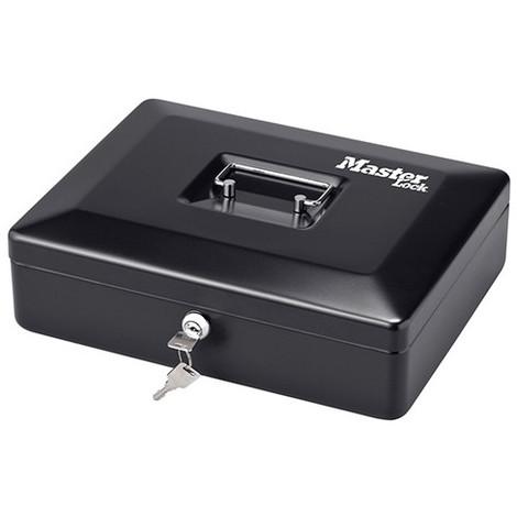Coffre monnaie M poignée intégrée et plateau de rangement. Dim 9,3 x 30 x 23,5 cm - CB-12ML - Masterlock - -
