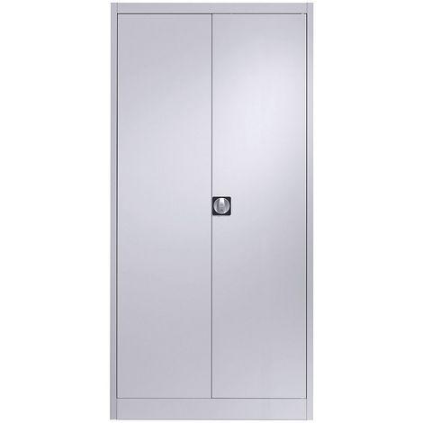 Coffres à clés - gris clair, barre de crochets réglable - 70 crochets, h x l x p 436 x 460 x 120 mm - Coloris: Gris clair RAL 7035