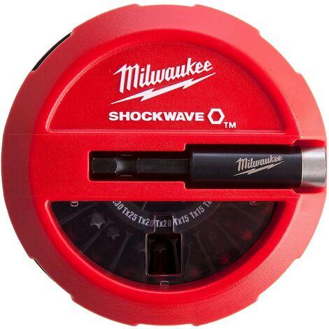 Coffret 15 embouts PUCK Shockwave Impact Duty™ CD Puck Set - MILWAUKEE - 4932430904