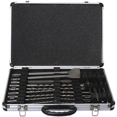 Coffret 17 outils DSD-PLUS perçage burinage MAKITA D-19180
