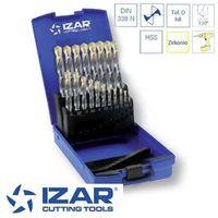 coffret 19 forets HSS-Zirkonio de 1 à 10 mm par 0.5 mm Izar