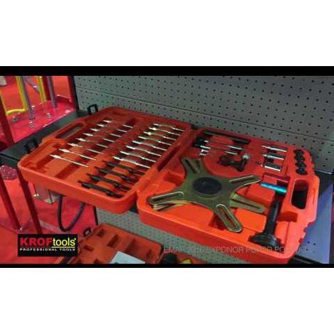 Coffret 30 outils démontage poulies d'alternateur