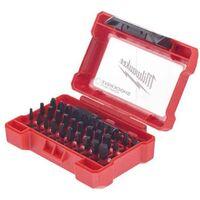 Coffret 32 pièces MILWAUKEE shockwave - porte embouts 4932464240 - Gris charbon