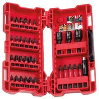 Coffret 33 Embouts + douilles Shockwave MILWAUKEE - 4932430905