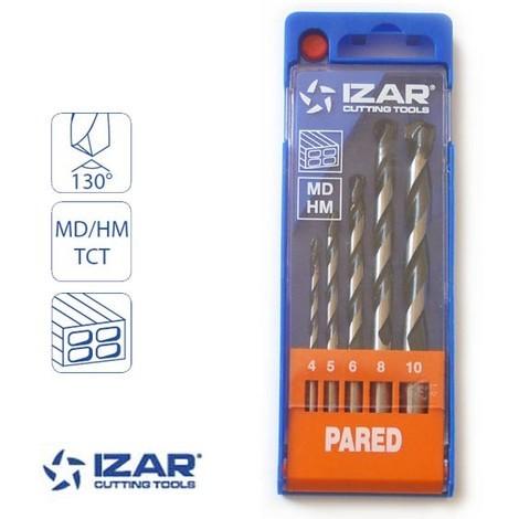 coffret 5 forets beton standard Izar à pointe carbure
