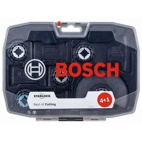 Coffret 5 lames outils oscillant BOSCH STARLOCK Best for cutting - 2608664131