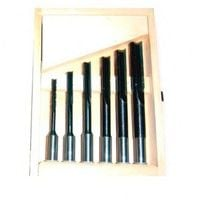 Coffret 6 mèches à mortaiser à droite WS D. 6 à 16 x Q 13 mm - 5051000 - Holzprofi - -