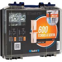 Coffret 600 écrous + pince E-360NH SCELL-IT COF360