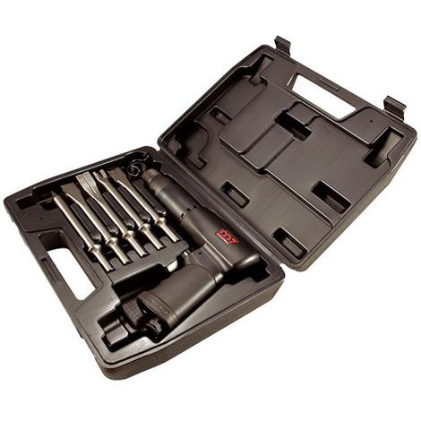Coffret 7 pcs marteau burineur pneumatique 3200 Bpm et accessoires - SC0617C - M7 - -