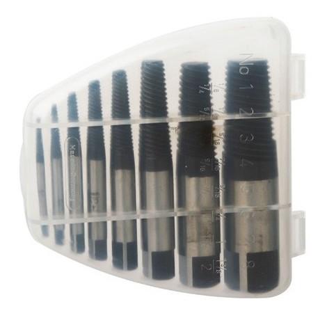 Coffret 8 extracteurs de vis N° 1 (M3) à 8 (M50) - U5050183 - Diager - -