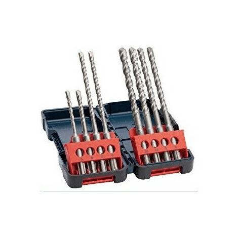 Coffret 8 forets perçage béton SDS plus 3 BOSCH 2607019903