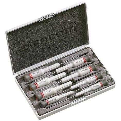 Coffret 8 Tournevis Micro-Tech Facom AEF.J6