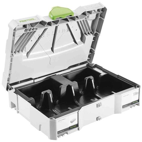 Coffret avec calage pour abrasifs FESTOOL Systainer T-LOC SYS-STF 80x133